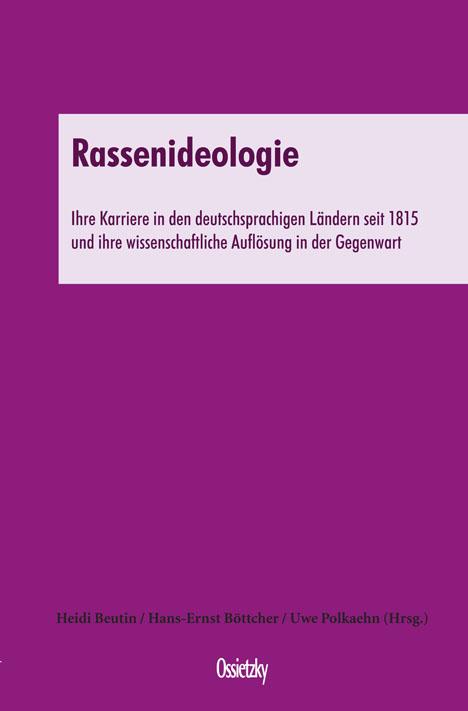 Cover: Rassenideologie